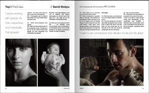 Feature of David O published in litebook magazine