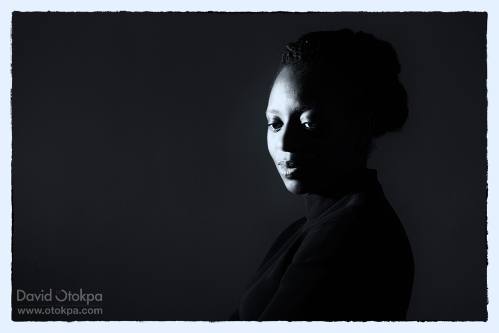 Sabine Adeyinka Deep in Thought.